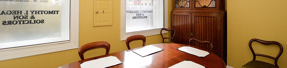 T. J. Hegarty Office Room