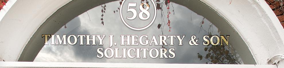 T. J. Hegarty Solicitors Doorway